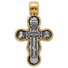 «Голгофа. Икона Божией Матери «Нерушимая Стена».Крест нательный. Арт.101.260