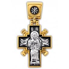 «Иисус Христос «Царь царей». Икона Божией Матери «Державная».Крест нательный. 101.261