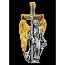 Ангел Хранитель, несущий Крест. Образок нательный. 102.280