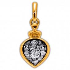 «Икона Божией Матери «Всецарица». Ангел Хранитель» Арт. 102.278