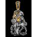 «Вмч. Георгий Победоносец» Образок нательный. 102.285