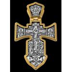 «Распятие. Ангел Хранитель» Крест нательный. 101.002