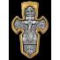 «Распятие. Архангел Михаил» Крест нательный. 101.004