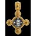 «Спас Нерукотворный. Ангел Хранитель» Крест нательный. 101.017