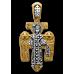 «Распятие. Архангел Михаил» Крест нательный. 101.024