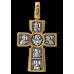 « Распятие. Божия Матерь «Воплощение ». Пять святителей » Крест нательный. 101.039