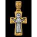 « Распятие. Божия Матерь « Оранта » Крест нательный. 101.046