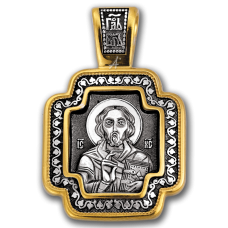 «Господь Вседержитель. Божия Матерь «Споручница грешных» Крест нательный. 101.058