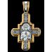 «Господь Вседержитель. Великомученик Пантелеимон Целитель» Крест нательный. 101.064