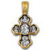 « Крестовоздвижение. Донская икона Божией Матери » Крест нательный. 101.073