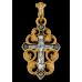 « Распятие. Виноградная лоза » Крест нательный. 101.091