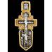 « Распятие с Андреевским крестом. Ангел Хранитель » Крест нательный. 101.214К