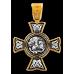 « Спас Нерукотворный. Чудо Cв. Георгия о змие ». Крест нательный. 101.228