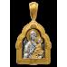 «Тихвинская икона Божией Матери» Образок. 102.012