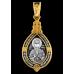 « Феодоровская икона Божией Матери. Великомученица Параскева » Образок. 102.088