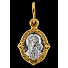 « Казанская икона Божией Матери. Процветший крест » Образок. 102.095