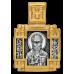 « Святитель Николай Мирликийский Чудотворец. Ангел Хранитель » Образок. 102.103