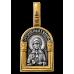 « Святая блаженная Матрона Московская. Ангел Хранитель » Образок. 102.111