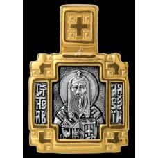 «Святитель Алексий митрополит Московский. Ангел Хранитель» Образок. 102.112
