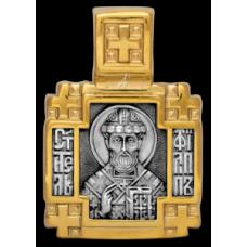 «Святитель Филипп митрополит Московский. Ангел Хранитель»  Образок. 102.113