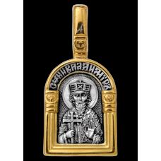 « Святой равноапостольный великий князь Владимир. Ангел Хранитель » Образок. 102.115