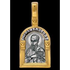 «Святой апостол Павел. Ангел Хранитель» Образок. 102.117