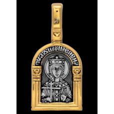 « Святая равноапостольная царица Елена. Ангел Хранитель » Образок. 102.119