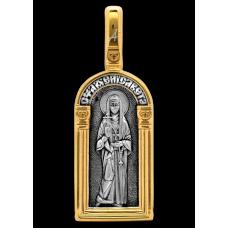 «Святая преподобномученица великая княгиня Елисавета. Ангел Хранитель» Образок. 102.123