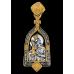 « Икона Божией Матери « Взыскание погибших ». Святая блаженная Матрона» Образок. 102.129