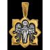 « Святая мученица Лариса. Ангел Хранитель » Образок. 102.132
