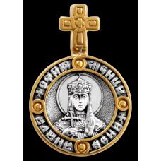 «Святая мученица царица Александра. Ангел Хранитель» Образок. 102.138