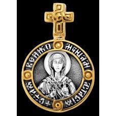 « Святая великомученица Анастасия Узорешительница. Ангел Хранитель » Образок. 102.143