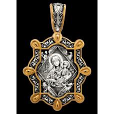 «Икона Божией Матери «Неопалимая Купина» Образок. 102.235