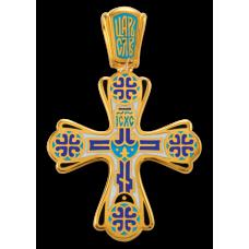«Голгофа. Чудись Божию Чудному Чуду». Крест нательный. 103.011