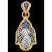 «Владимирская икона Божией Матери» Образок. 103.223
