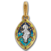 «Спас на престоле. Символы Евагелистов» Образок. 103.224