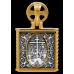 « Господь Вседержитель. Казанская икона Божией Матери. Свт. Николай Чудотворец » складень нательный 104.248