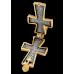 «Господь Вседержитель. Божия Матерь «Оранта».  Крест-мощевик. 107.037