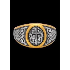 «Процветший Крест»  Кольцо охранное. 108.040-П