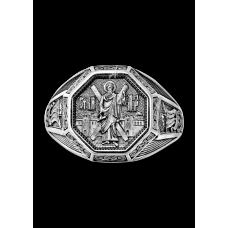 «Святой апостол Андрей Первозванный»  Кольцо охранное. 108.042