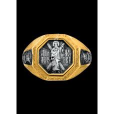 «Святой апостол Андрей Первозванный»  Кольцо охранное. 108.042-П