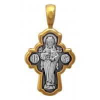 Крест «Христос Пантократор. Семистрельная икона Божией Матери» Арт. 101.501