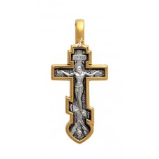 «Распятие. Ангел Хранитель. Молитва» Крест. Арт. 101.502