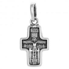 """Детский крест с молитвой """"Спаси и сохрани"""" -  101.471"""