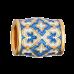Бусина «Процветшие сердца» Арт. 114.023